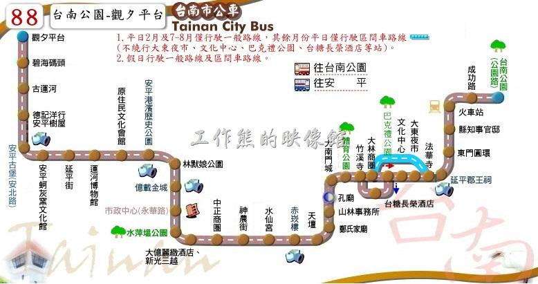 台南觀光公車88安平線