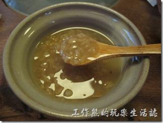 台南-奉茶。糯米粥