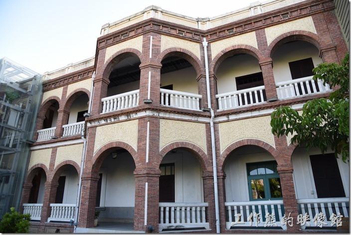 台南知事官邸的背面景象。