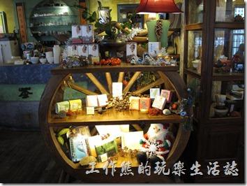 「台南-奉茶來恁兜」餐廳一隅