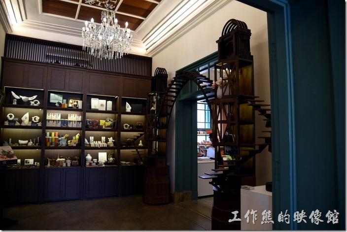 台南-知事官邸一樓的空間。