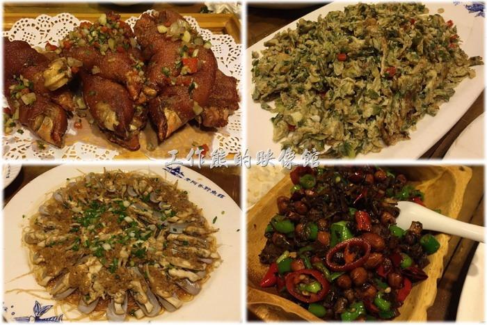 工作熊這次來昆山因為住在「萬怡酒店」,所有有機會品嚐這間【老阿爸野魚館】的餐點,印象中這家餐廳似乎也是台灣人開的店,所以店內的特色就是可以在點菜區的牆壁上看到大部分菜色的照片,也可以現場指定那些海鮮的烹飪方式,類似台灣常見的海產店,只是做了些變化。