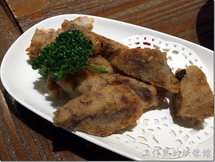 南港-春水堂。古早味芋頭糕,NT65。工作熊怎麼沒印象有吃到這一道,難道太好吃一下就被被吃光了嗎!