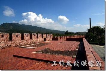 恆春北門有全恆春最長的城牆。