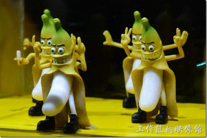 墾丁大街的香蕉哥也有販賣「香蕉小公仔」,不過要價NT200一支。