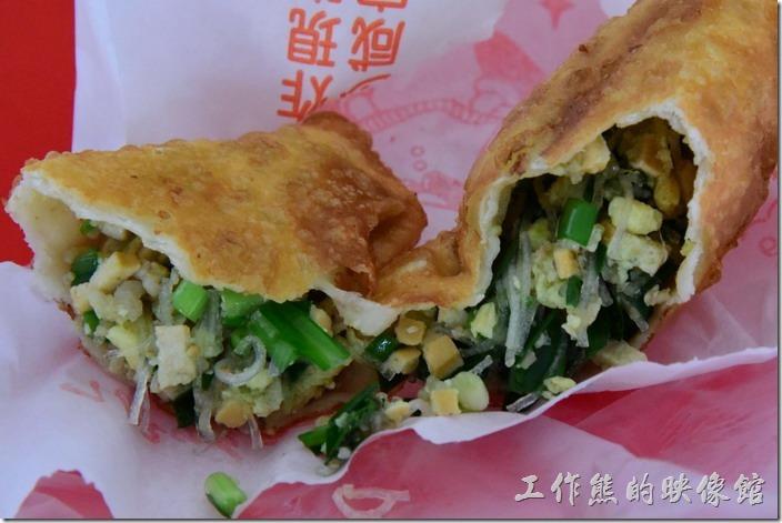 [台南安平小吃]劉記韭菜盒子、烙餅