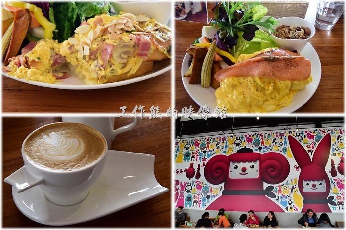 [台南]生菜多到讓人驚喜的「光合箱子」咖啡早午餐