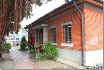 台南運河博物館的西側主要出入口。