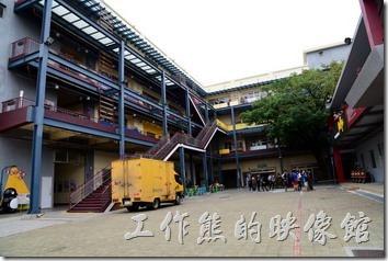 台南文創園區的創意生活館。