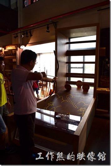 小林平埔文物館內目前以「回家-記憶中的家小林部落」為常態展,館內也有許多互動式的展出。