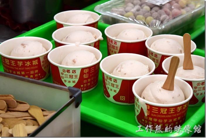 甲仙三冠王吃冰。地址:高雄市甲仙區文化路47號 ,中場休息站,順便買零食或伴手禮。