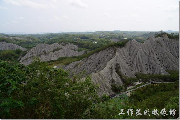 高雄田寮月世界地景公園的風景