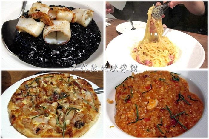 [台北東區]黑米CAFE BISTRO,品嚐黑到發亮的墨魚燉飯