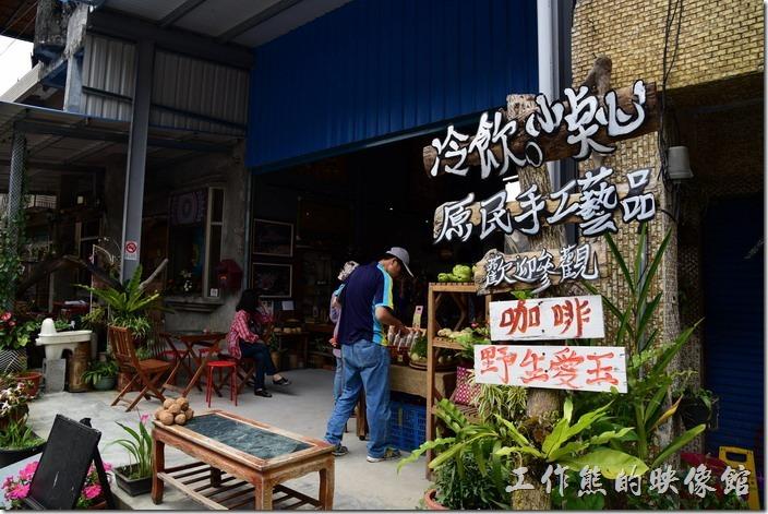 築夢工坊原民手工藝品新址在舊址的隔壁而已。