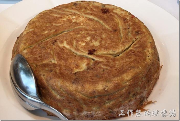 台北南港-1010湘。酸豆角烘蛋,咱沒吃道這道菜,好像裡頭有豆角在裡頭,因為是送錯的菜。