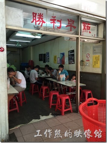 [台南]勝利早點,推薦好吃的豬肉蛋餅