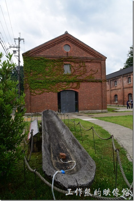 日本舞鶴-紅磚博物館。這個水槽沒有仔細看是做什麼用的。
