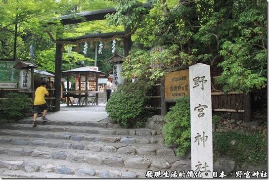 感覺稍微有點陰森的日本【野宮神社】