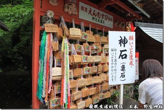 日本-野宮神社,據說只要摸野宮大黑天旁邊的神石「龜石」,即可實現願望。