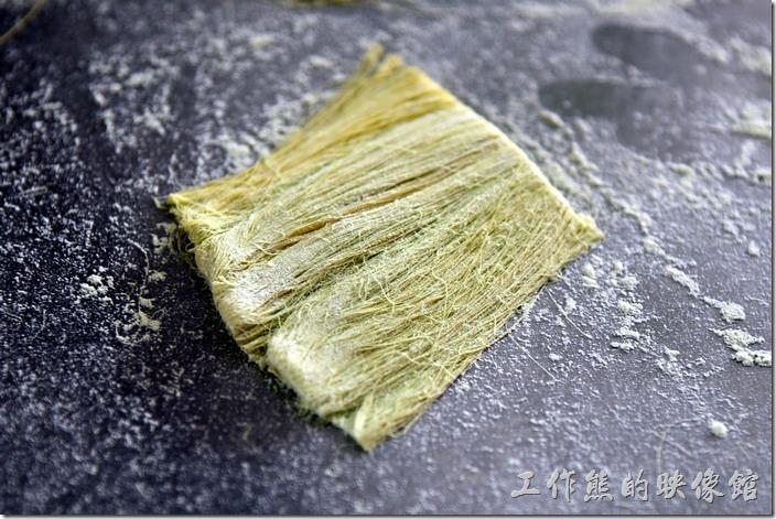 祥語有機農場龍鬚糖DIY。這是剪斷成適當長度的龍鬚糖。