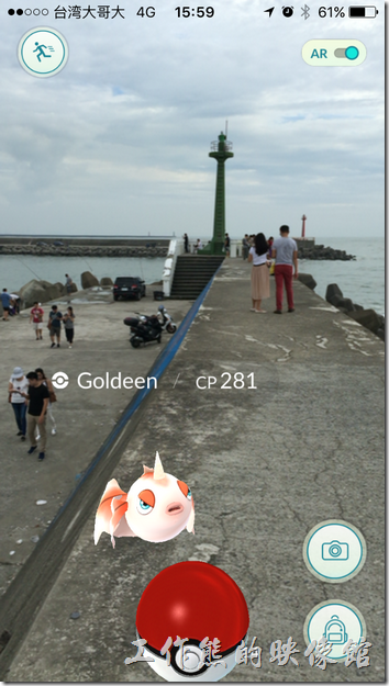 其實在台南安平觀夕平台燈塔的地方也是賞浪的好地方。
