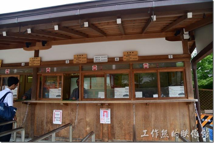 欲進入清水寺的本堂及大舞台就需要購買門票,成人400日幣,小人200日幣。