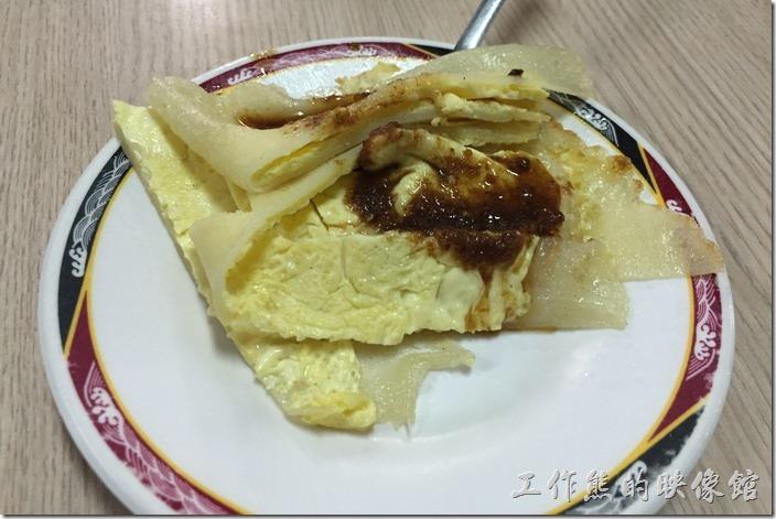 台南-豆奶宗。聽說豆奶宗的蛋餅餅皮是自己製作的。