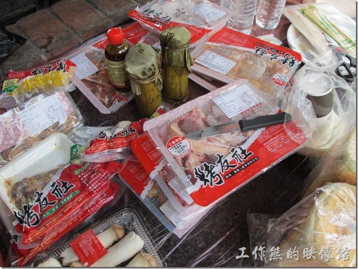 大板根森林溫泉渡假村。NT3000的烤肉套餐內容真的非常豐富!就是少了海鮮。