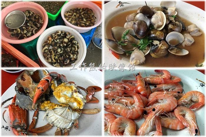 [台南三股]四季海產,偏僻鐵皮屋下的平價代客料理海鮮美味