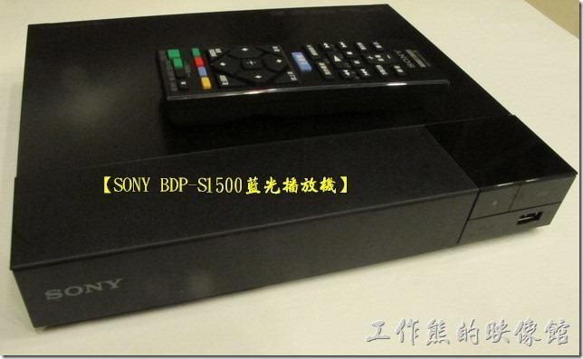 [敗物開箱]可以上網支援Full HD 1080p的SONY BDP-S1500藍光播放機