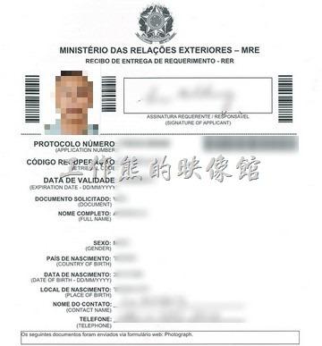 Brazil_Visa_form