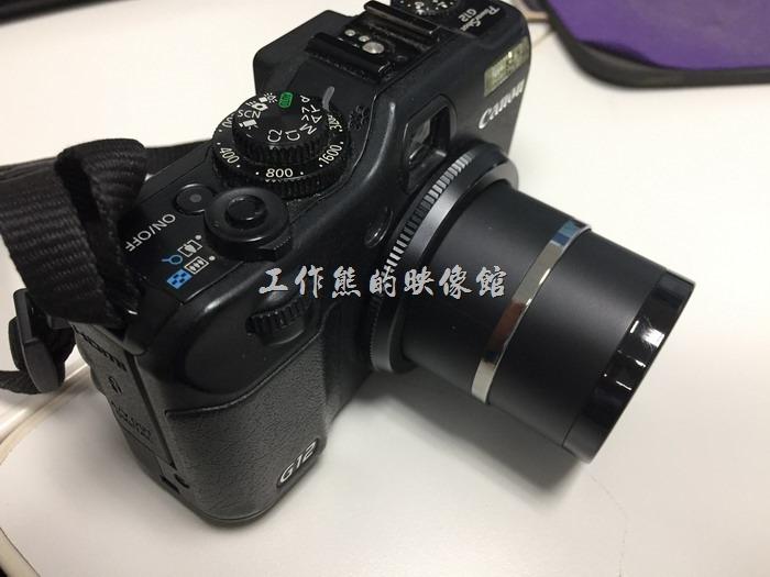 【Canon G12】類單眼相機一直處於跛起狀態,無法伸縮,按電源按鈕有聽到馬達的聲音在試圖運作,但就是沒有反應。