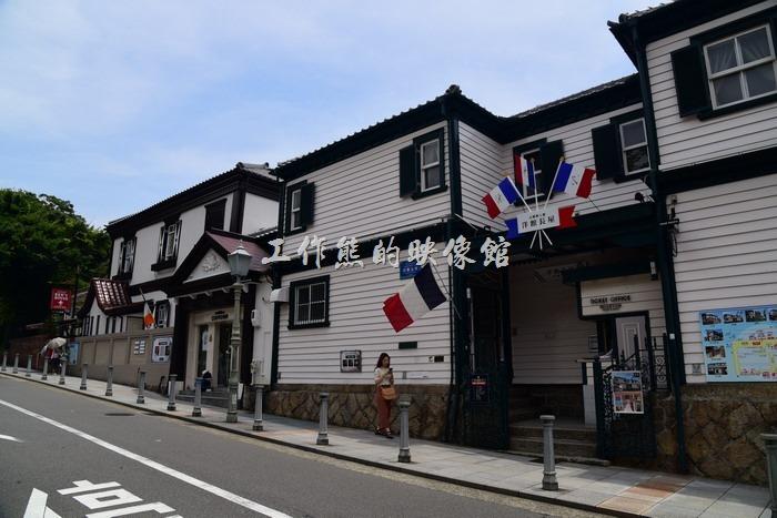 日本北野-異人館。仏蘭西館