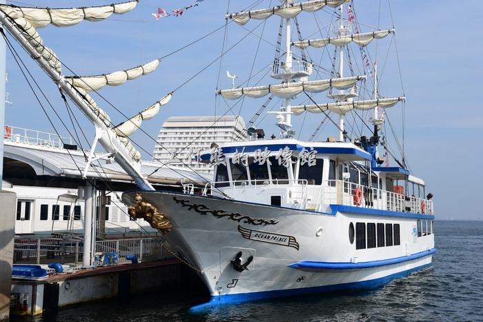 神戶港本身就是個港口,所以這裡也可以看到許多具有特色的船隻。