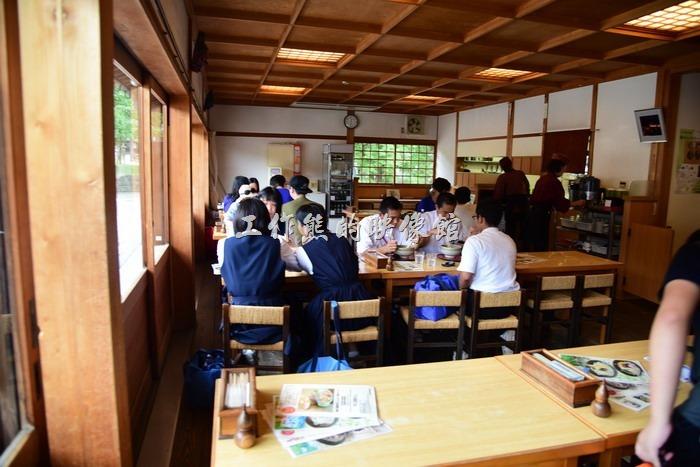 日本奈良-繪馬堂茶屋。日本奈良「繪馬堂茶屋」的內部景色!