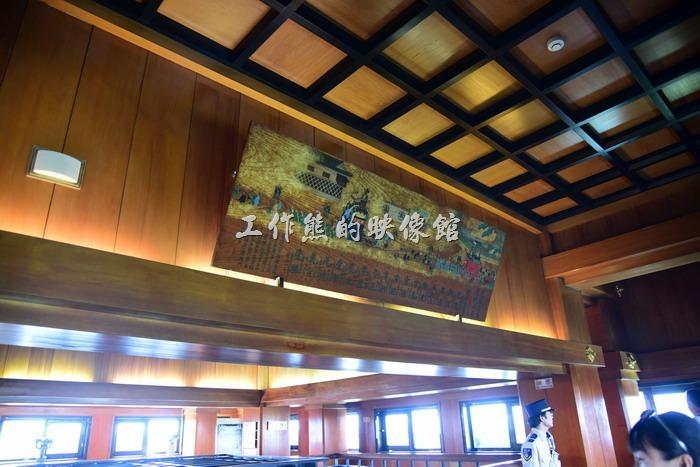 名古屋城大天守頂層區。