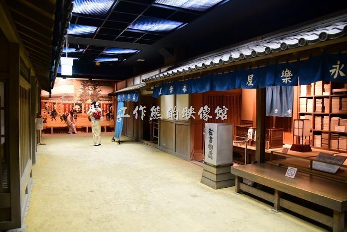 名古屋城天守閣三樓的日常生活展示區。