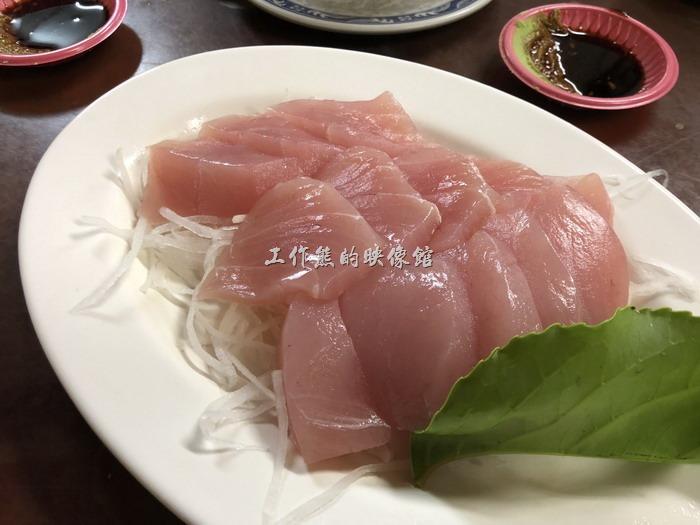 台東-特選海產。旗魚生魚片
