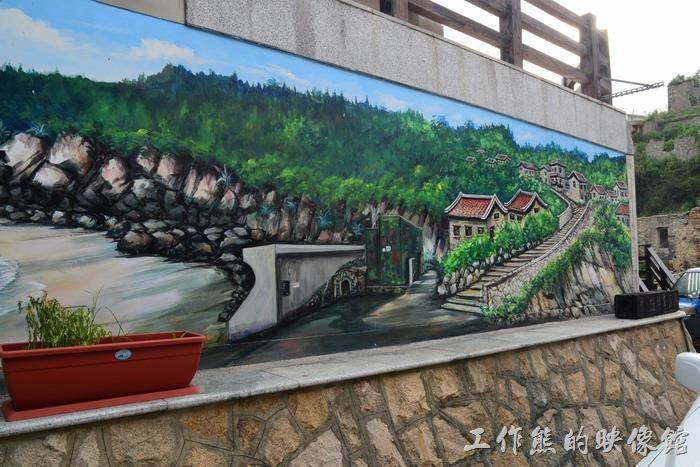 馬祖南竿-這個石梯應該是整個「津沙聚落」最具有特色的地方