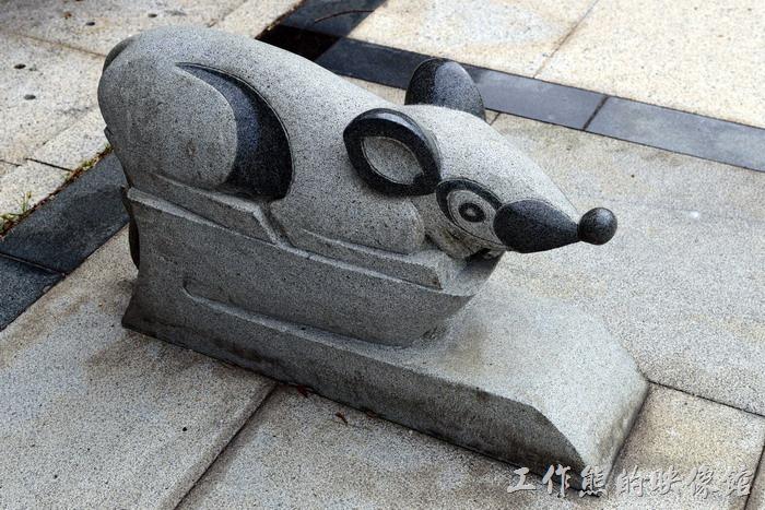 馬祖南竿-馬祖民俗文物館。「鼠」生肖圖騰。
