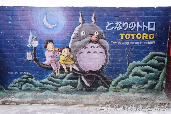 台南-大內龍貓公車站彩繪村14