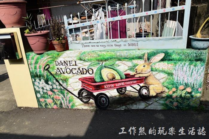 台南-大內龍貓公車站彩繪村25