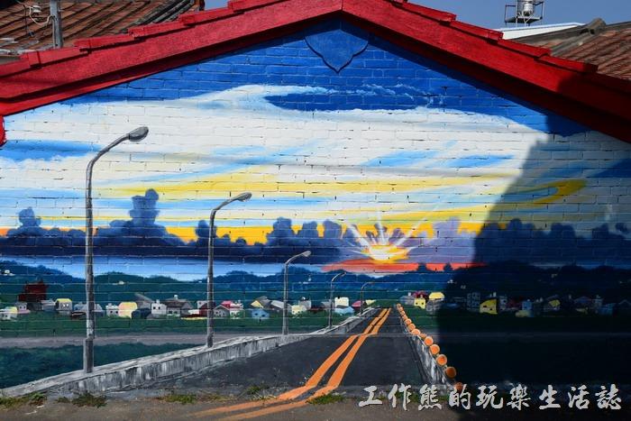 台南-大內龍貓公車站彩繪村30
