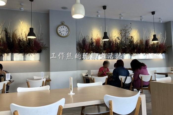 【6吋盤早午餐】台南立賢店內部的裝潢!