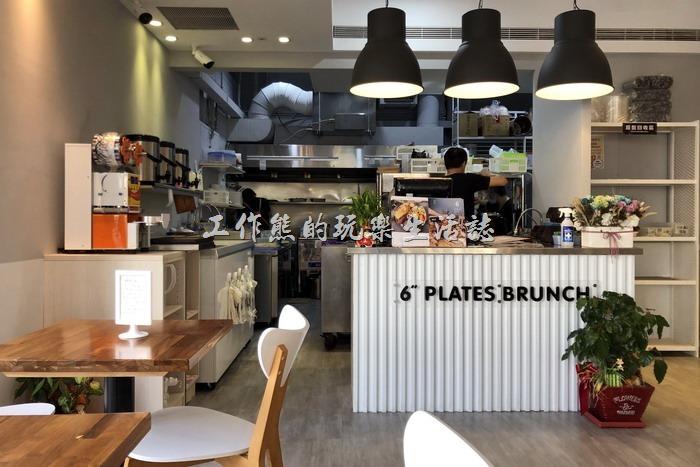 【6吋盤早午餐】台南立賢店的櫃台!