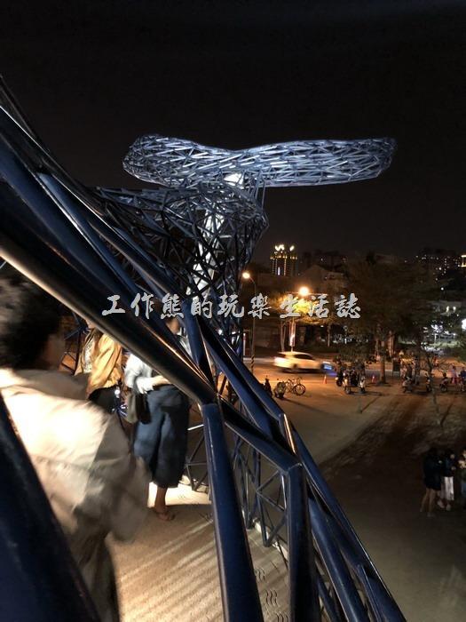 台南安平-大魚的祝福(鯨魚裝置藝術)10