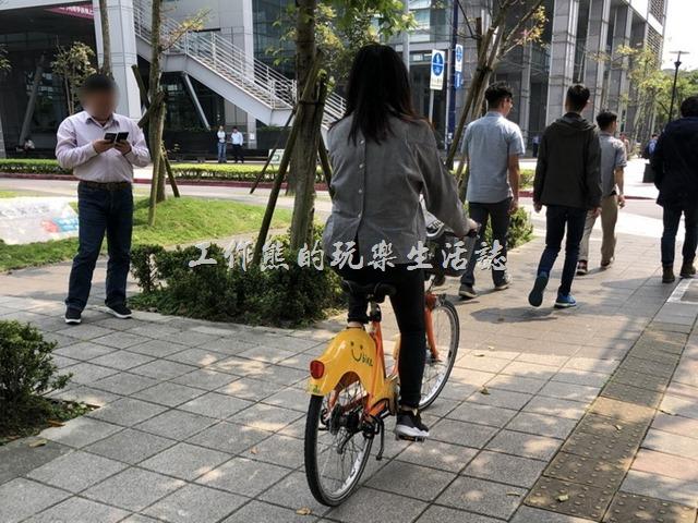 自行車退出人行道04