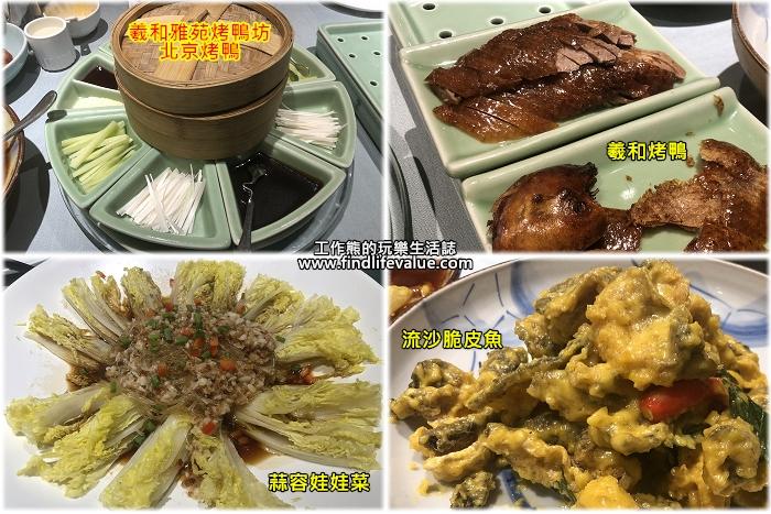 《北京美食》羲和雅苑烤鴨坊,特色北平烤鴨新吃法