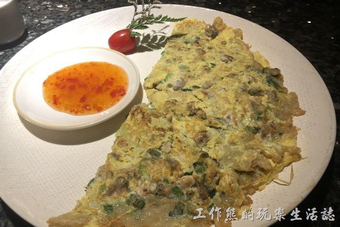 中國福州-八閩小聚。閩南海蠣煎,RMB48.9。