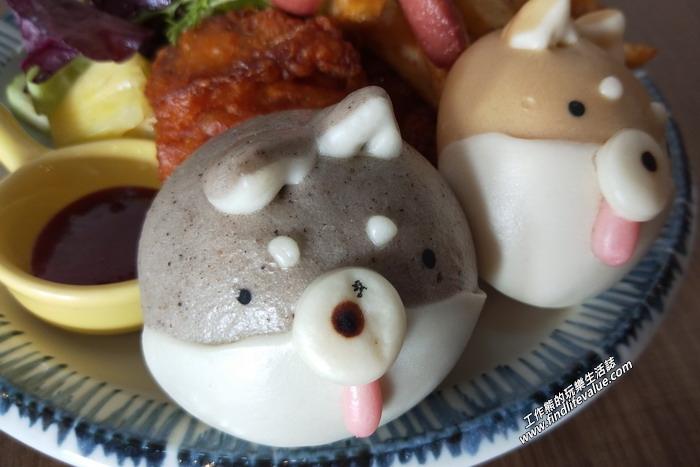 台南:豆弄。雙色柴犬餐,NT240。